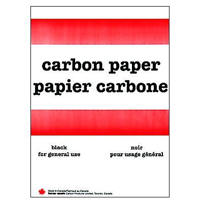 CARBON PAPER-BLACK