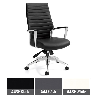 Compare Chair Global Accord Hibk Tltr Allante Vinyl Black