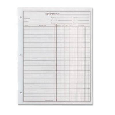 FORMS-INVENTORY PAD